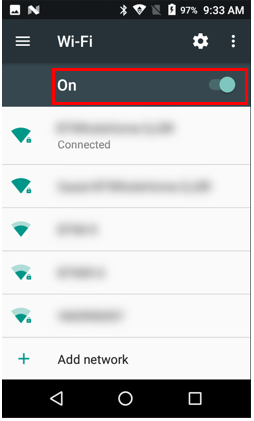 Select wireless network